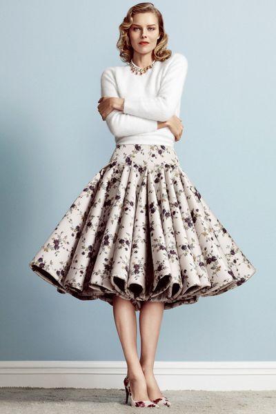 EN IMAGES. Eva Herzigova, pin-up des années 1950 pour L'Express Styles - L'Express Styles