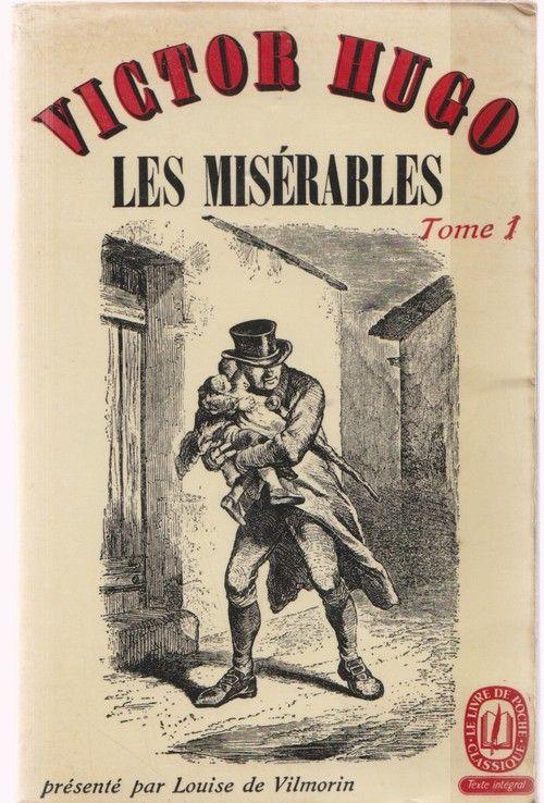 Ldp 964 965 Victor Hugo Les Miserables Tome 1 Livre Vintage Illustrations