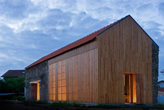 Portuguese Barn Transformed Into Sun Drenched Louvered