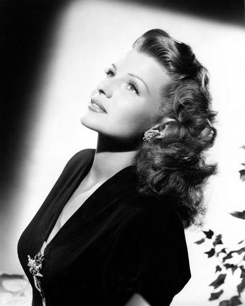 Rita Hayworth always adds beauty to my day.