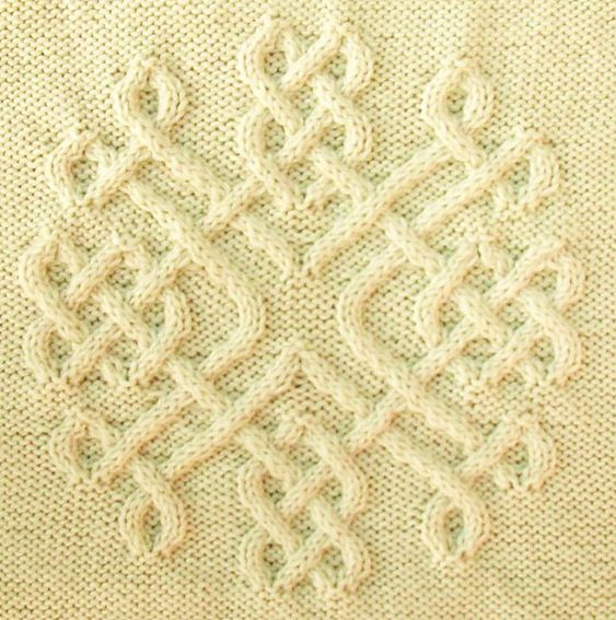 Lovers Knot Knitting Stitch : Cable, Snowflakes and Stitches on Pinterest