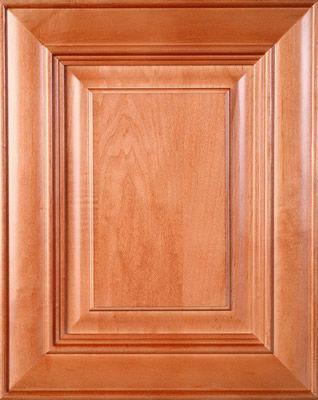 Maple wood door praline stain cabinet door colors for Birch vs maple kitchen cabinets