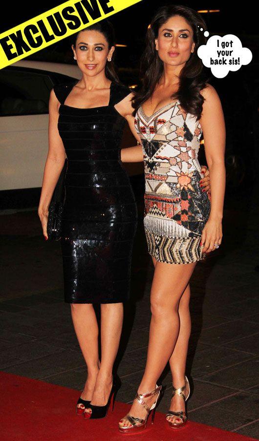 Oddly Enough Kareena And Karisma Kapoor Kept A Super Low Celebrity Outfits Bollywood Fashion Bollywood Actress Bikini