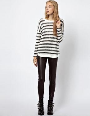 Image 1 - Vero Moda - Leggings effet mouillé
