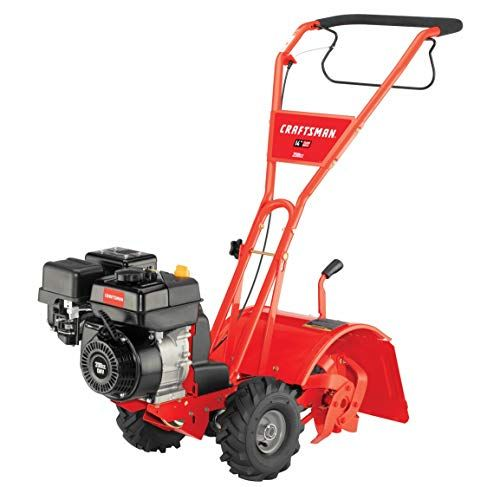 Craftsman Cmxgvam1144036 14 Inch Powered Rotating In 2020 With Images Rear Tine Tiller