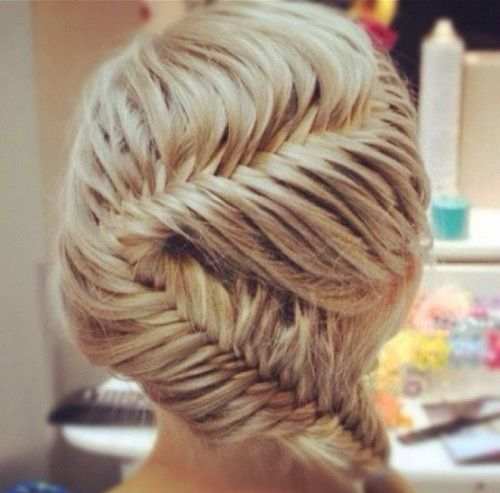 Excellent Fish Tail French Braid Styles And French Braids On Pinterest Hairstyles For Women Draintrainus