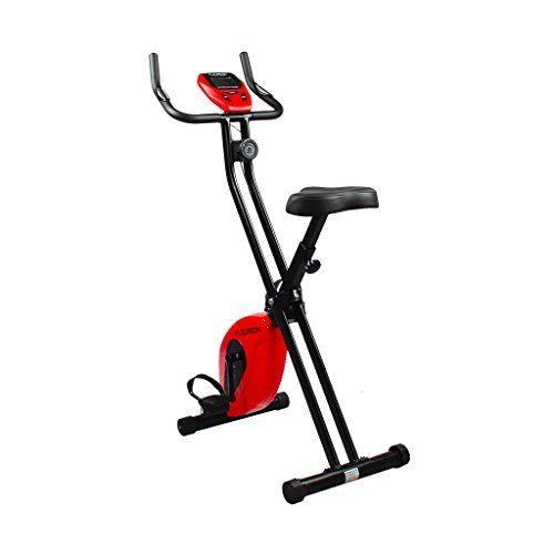 Floureon Magnetic Upright Exercise Bike Trainer Folding Fitness