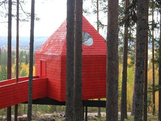 The Treehotel - Harads, Sweden