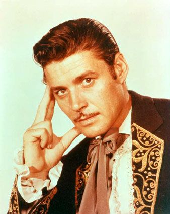 Guy Williams as Don Diego de la Vega - such a charming old fashioned man perfect for the role of Zorro in the tv series of the 1957 I've watched many times in my childhood.