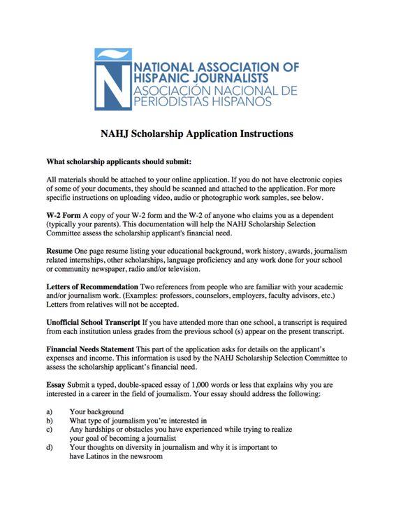 Financial Need Essay Sample File Info For Scholarship Details Nahj
