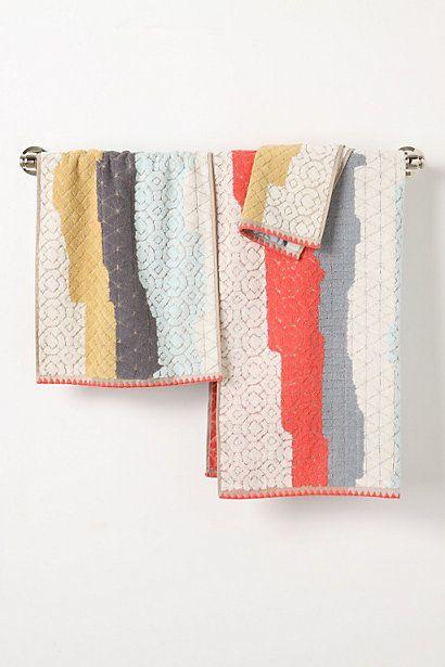 Sechura Towels  #anthropologie