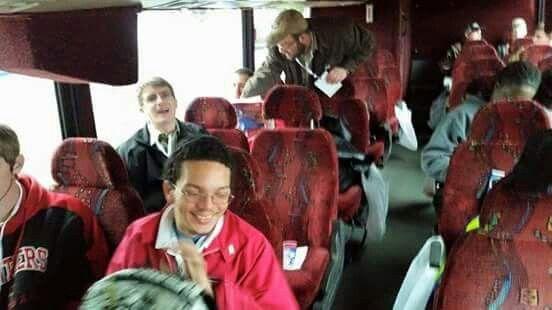 Bus ride to Pensacola!