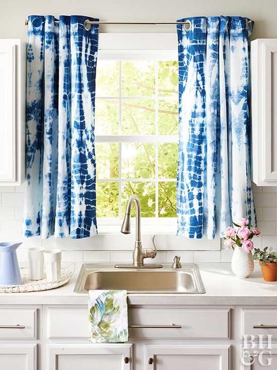 14 Diy Kitchen Window Treatments Kitchen Window Treatments Plain Curtains Kitchen Window Curtains