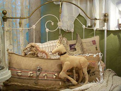 Binky la Faye original pillow