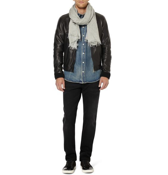 PRODUCT - Dolce & Gabbana - Modal And Wool-Blend Scarf - 362021   MR PORTER