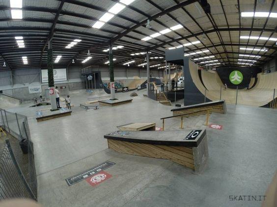 Euro Gap Skate Park Interior House Design