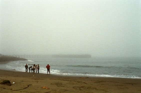 35mm || SF48  Believe it or not, this is facing the direction of the Golden Gate Bridge. The fog was so thick at the time, you wouldn't be able to tell.