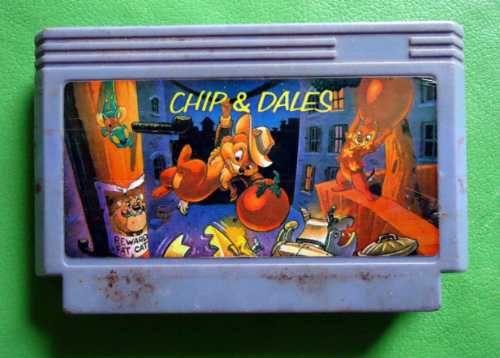 Uma versão de Chip 'n Dale Rescue Rangers para #NES.