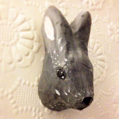 Bettyjoy tutorials: Paper Animal Heads