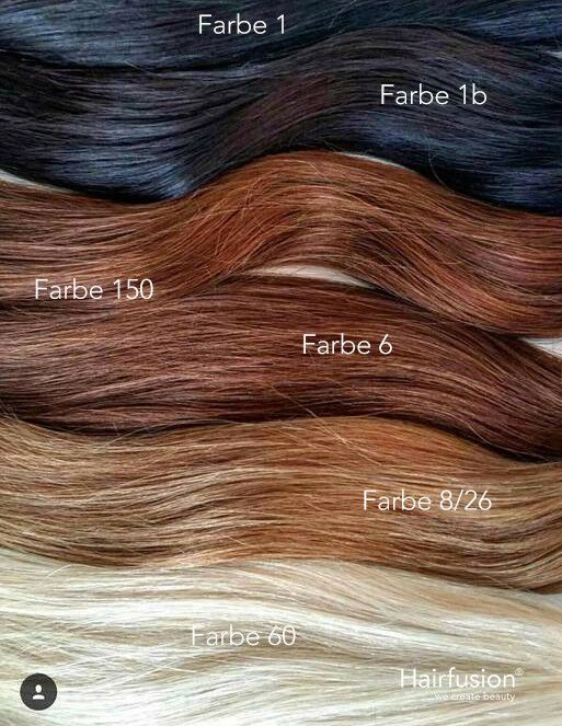 Bonding extensions farben
