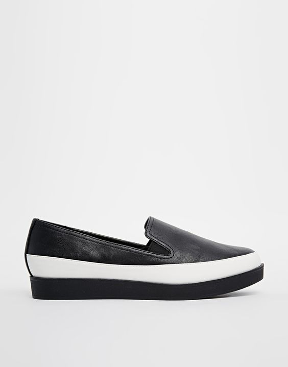Image 2 of ASOS MOLLY ROSE Flatform Shoes