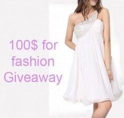 100$ para #Fashion ^_^ http://www.pintalabios.info/es/sorteos_de_moda/view/es/3679 #Internacional #Sorteo #Moda