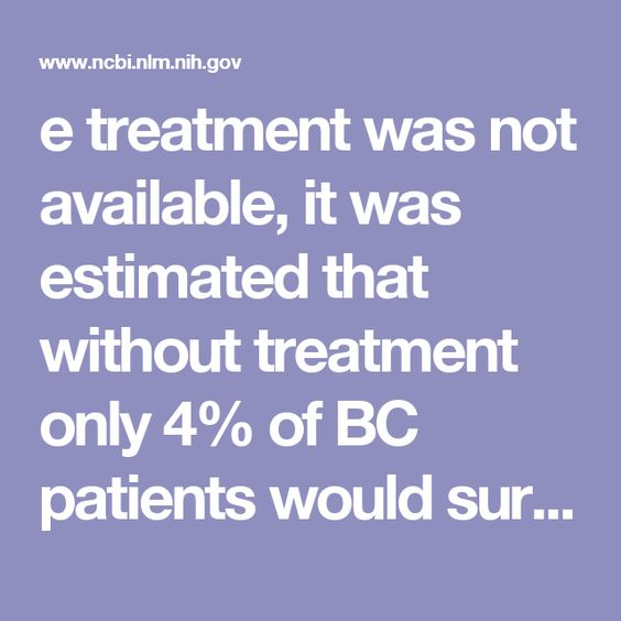 e treatment was not available, it was estimated that without treatment only 4% of BC patients would survive 10years or longer [102]. BC treatment guidelines have been modified continuously in the last 28years, tailored to most of the prognosticators mentioned earlier [51]. Effectiveness of various treatment modalities has been summarized by others who conclude that radiation, chemotherapy and hormonal therapy may reduce long-term mortality by up to 57% [66, 103–105]. Emerging new…