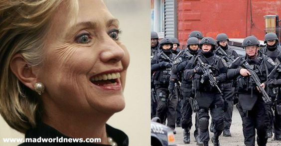 Insider Exposes Hillary Clinton's Diabolical Plans For America's Local Police