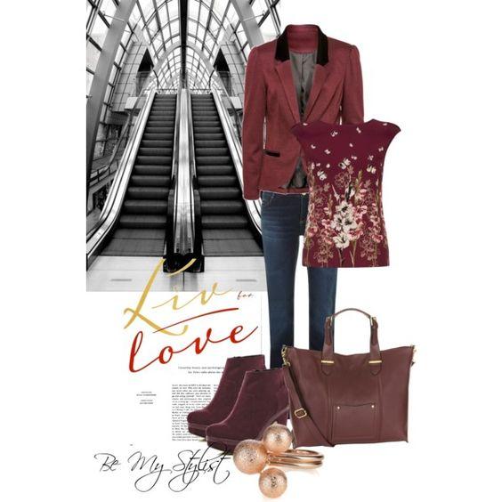 """""""Burgunday Love"""" by bemystylist on Polyvore"""