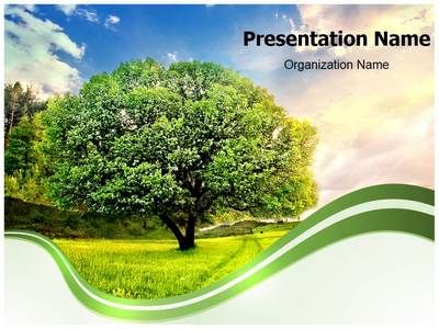 Download our professionally designed nature PPT template. This ...