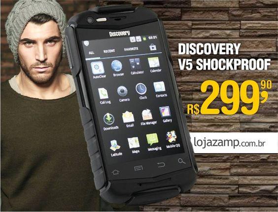 Smartphoen Discovery V5 é aqui na Loja Zamp
