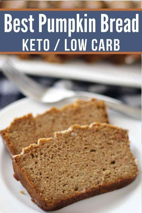 The Very Best Keto Pumpkin Bread (Quick & Easy)