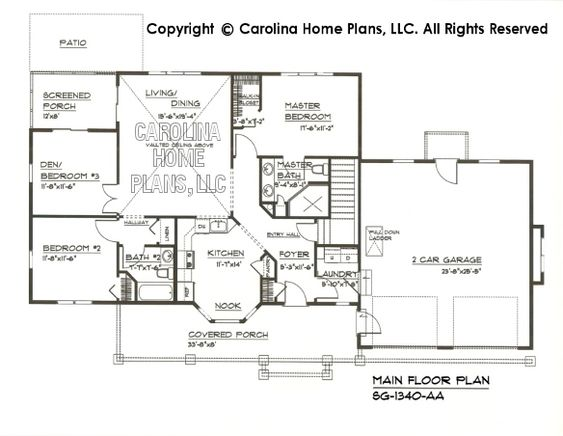 Small Craftsman Style House Plan SG  Sq Ft   Affordable Small    Small Craftsman Style House Plan SG  Sq Ft   Affordable Small Home Plan under