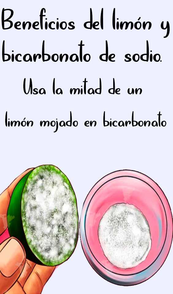 Beneficios Del Limon Y Bicarbonato De Sodio Bicarbonato Con Limon Bicarbonato De Sodio Bicarbonato