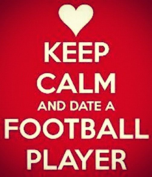 Dating a football player