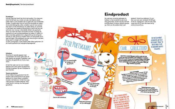 Zetje Zebra tandenpoetskaart. blz. 24-25