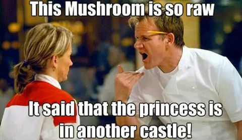 Gordon Ramsay & Super Mario mash up