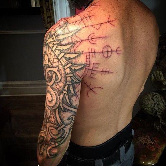 Viking Tattoos Ideas Scandinavian Tattoos Ideas For Men And Women In 2020 Scandinavian Tattoo Tattoos Viking Tattoos