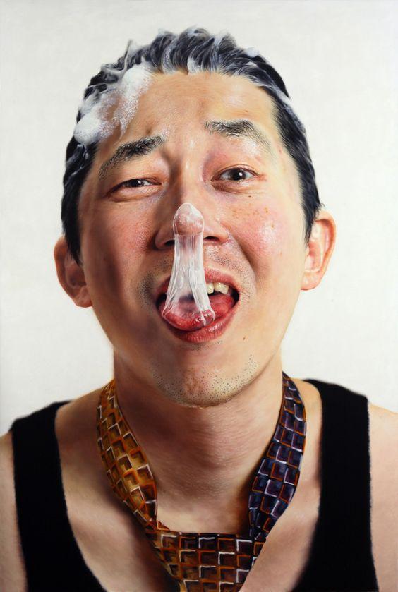 Hyper-realistic portraits by Kang Kang-Hoon