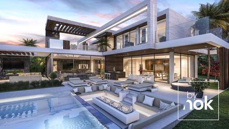Architecture Construction Luxury Modern Villa In Benahavis Luxury Homes Dream Houses Modern Mansion Modern Villa Design