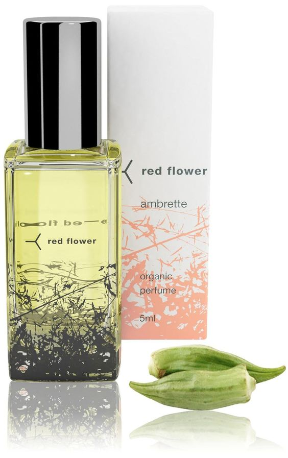 Red Flower Ambrette Roll-on Perfume