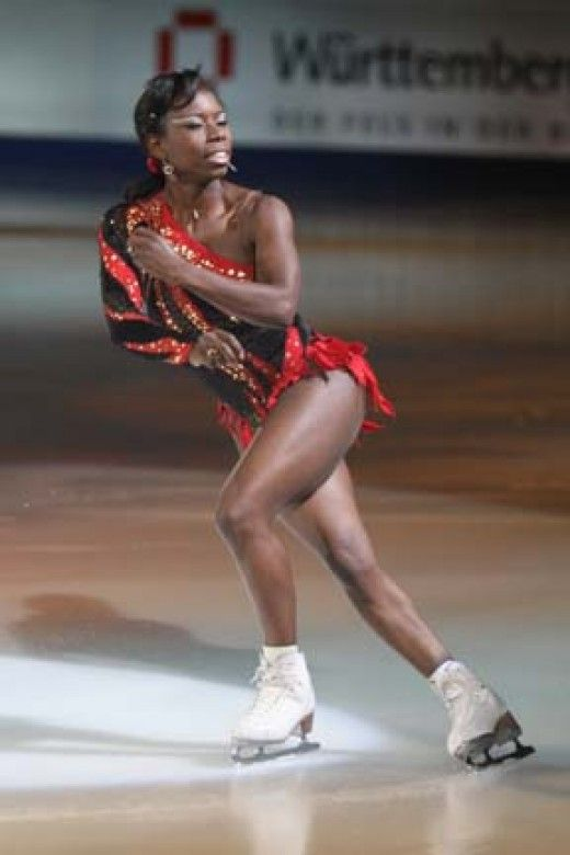Surya Bonaly a black French-American three-time World silver medalist, a five-time European champion, the 1991 World Junior Champion and a nine-time French national champion. Surya became best known for her amazing free skate at the 1998 Winter Olympics, where she performed her one bladed back flip. To this day she is the only skater to ever do this. Learn about more athletes. African American History in the Winter Olympics Games.: