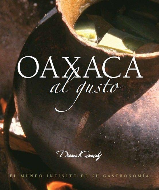 La portada del Libro de Diana Kennedy OAXACA AL GUSTO, no se distribuyo para su venta general, si lo quieren les consigo uno. panatiux@hotmail.com