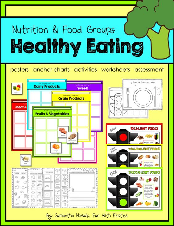 Healthy Eating: A Nutrition & Food Groups Pack With