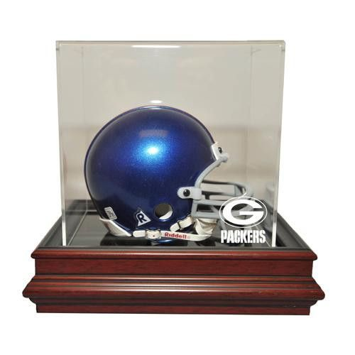 Green Bay Packers NFL Boardroom Mini Helmet Display Case