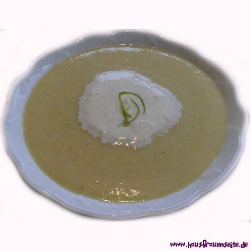 Porreecremesuppe Excelsior - Rezept  Porreecremesuppe Excelsior schmeckt warm, heiß und kalt sehr lecker! glutenfrei
