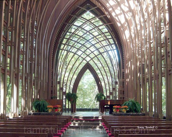I was married here :) Mildred B. Cooper Chapel in Bella Vista,AR on Norwood Lake.