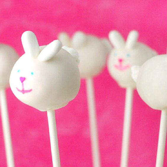 Easter cake pops. Get your bunny on!