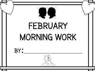 Three Cheers for First Grade: Differentiated Morning Work