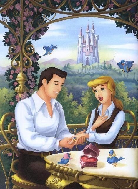 シンデレラと王子